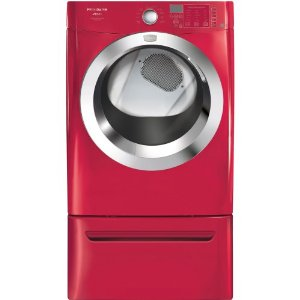 Classic Red with Ultra-Capacity Dryer and Ready Steam