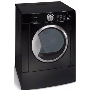 Black with Precision Moisture Sensor and Tumble Care Dry System