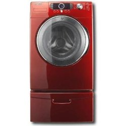 Samsung Wf328aar 4 0 Cu Ft Front Load Washer Tango Red