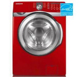 Samsung Wf409an 4 3 Cu Ft Front Load Washer Color Red