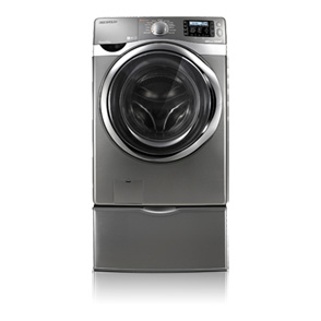 Samsung Wf520abp Xaa Stainless Front Load Steam Washing