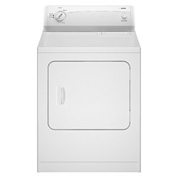 White Kenmore 5 9 Cu Ft Electric Dryer 68322